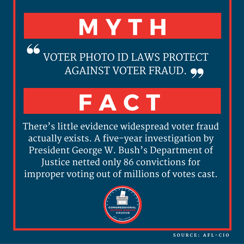 Voting Rights - Myth Buster #1