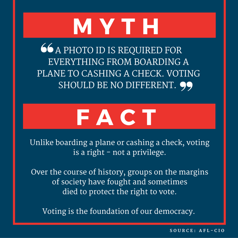 Voting Rights - Myth Buster #4